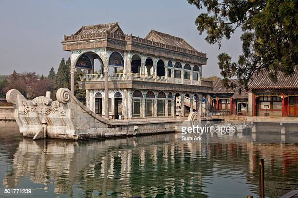 At the west end of the Long Corridor, visitors may easily find a boat, named Marble Boat . This two-storied boat was originally built in 1755 in...