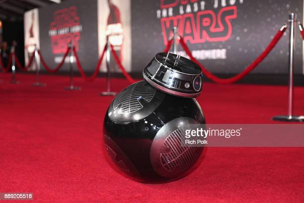 BB9E at the world premiere of Lucasfilm's Star Wars The Last Jedi at The Shrine Auditorium on December 9 2017 in Los Angeles California
