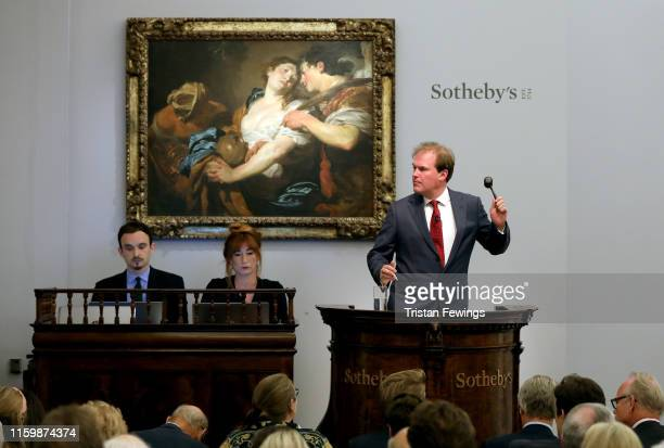 At tonight's Old Masters Evening Sale at Sotheby's in London the Metropolitan Museum of Art New York acquired Johann Liss's 'The Temptation of Saint...