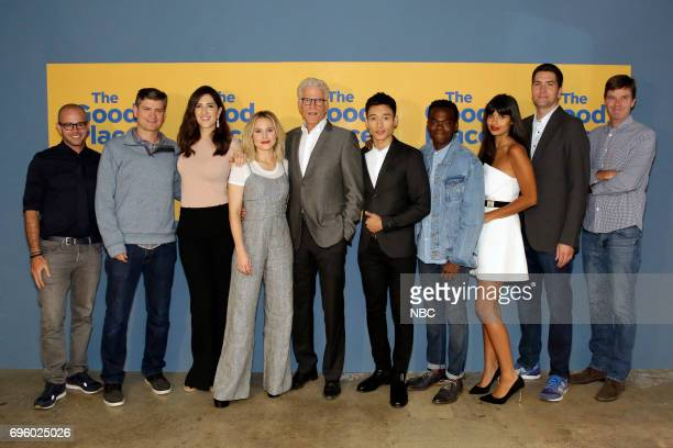 PLACE 'FYC at UCB' Pictured Damon Lindelof Moderator Michael Schur Executive Producer D'Arcy Carden Kristen Bell Ted Danson Manny Jacinto William...