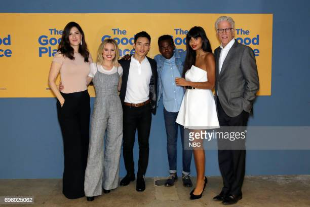 PLACE 'FYC at UCB' Pictured D'Arcy Carden Kristen Bell Manny Jacinto William Jackson Harper Jameela Jamil Ted Danson