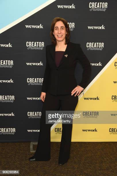 COO at WeWork Jen Berrent attends as WeWork presents Creator Awards Global Finals at the Theater At Madison Square Garden on January 17 2018 in New...