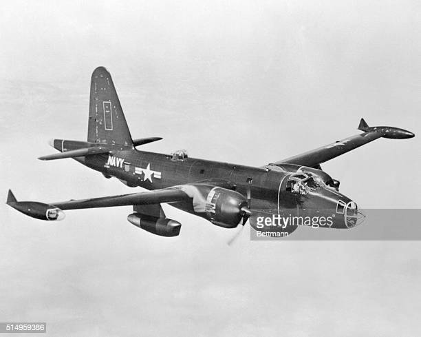 At Whitefield on the sixth day of the presidential tour the traveling White House staff announced that a Navy Lockheed P2V7 Neptune patrol bomber of...