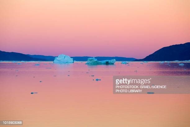 ataa, disko bay, greenland - photostock stock pictures, royalty-free photos & images