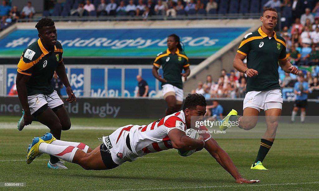 South Africa v Japan: World Rugby U20 Championship : News Photo