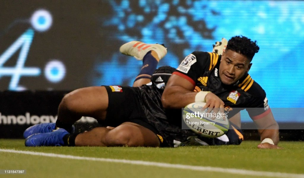 AUS: Super Rugby Rd 2 - Brumbies v Chiefs