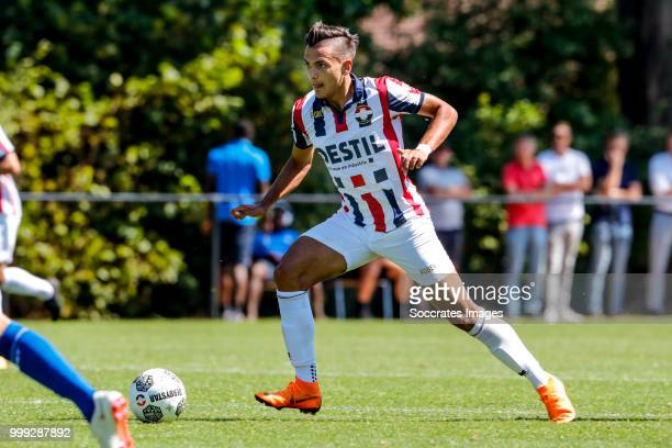Atakan Akkaynak of Willem II during the match between Willlem II v KAA Gent on July 14 2018 in TILBURG Netherlands