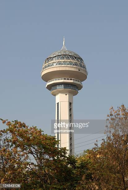 atakule tower in ankara - cankaya district ankara stock pictures, royalty-free photos & images