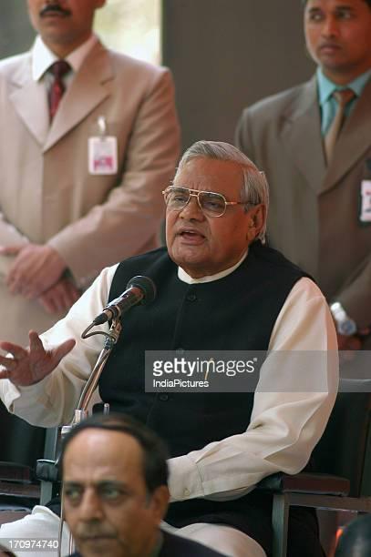 Atal Bihari Vajpayee Former Prime Minister and Bharatiya Janata Party leader New Delhi India
