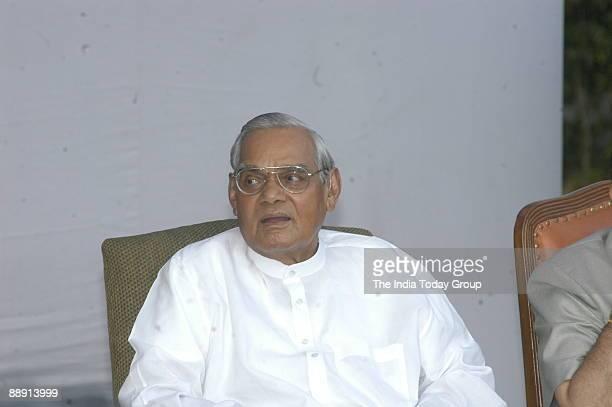 Atal Bihari Vajpayee former Prime Minister of India in New Delhi India