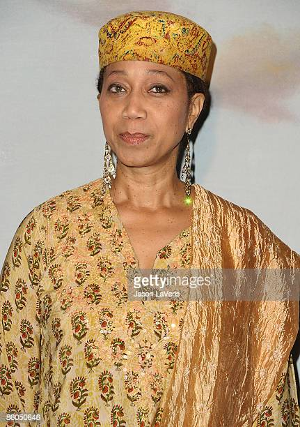 Atallah Shabazz attends the 2009 Jenesse Silver Rose gala at the Beverly Hills Hotel on April 19 2009 in Beverly Hills California