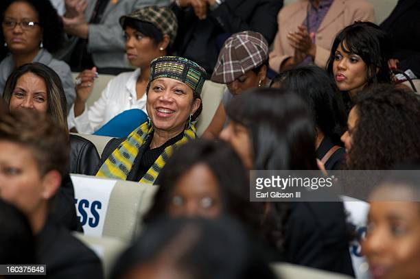Atallah Shabazz attends the 9th Annual NAACP Hollywood Bureau Symposium at Museum Of Tolerance on January 29 2013 in Los Angeles California