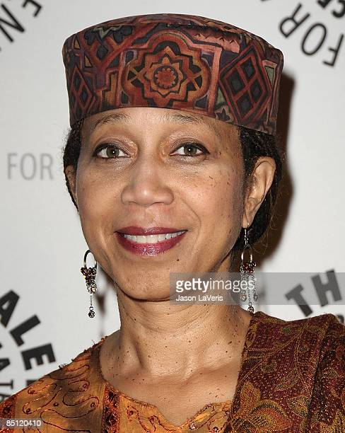Atallah Shabazz attends the premiere of America at The Paley Center on February 24 2009 in Beverly Hills California