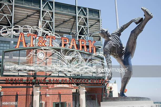 at&t park - giants stock photos and pictures