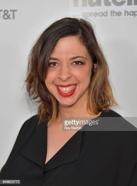 Atara Frish attends the Shorts Program The Love Letter during the 2018 Tribeca Film Festival at Regal Battery Park 11 on April 21 2018 in New York...