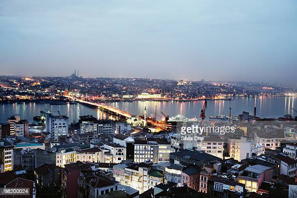 Ataturk Bridge and Golden Horn