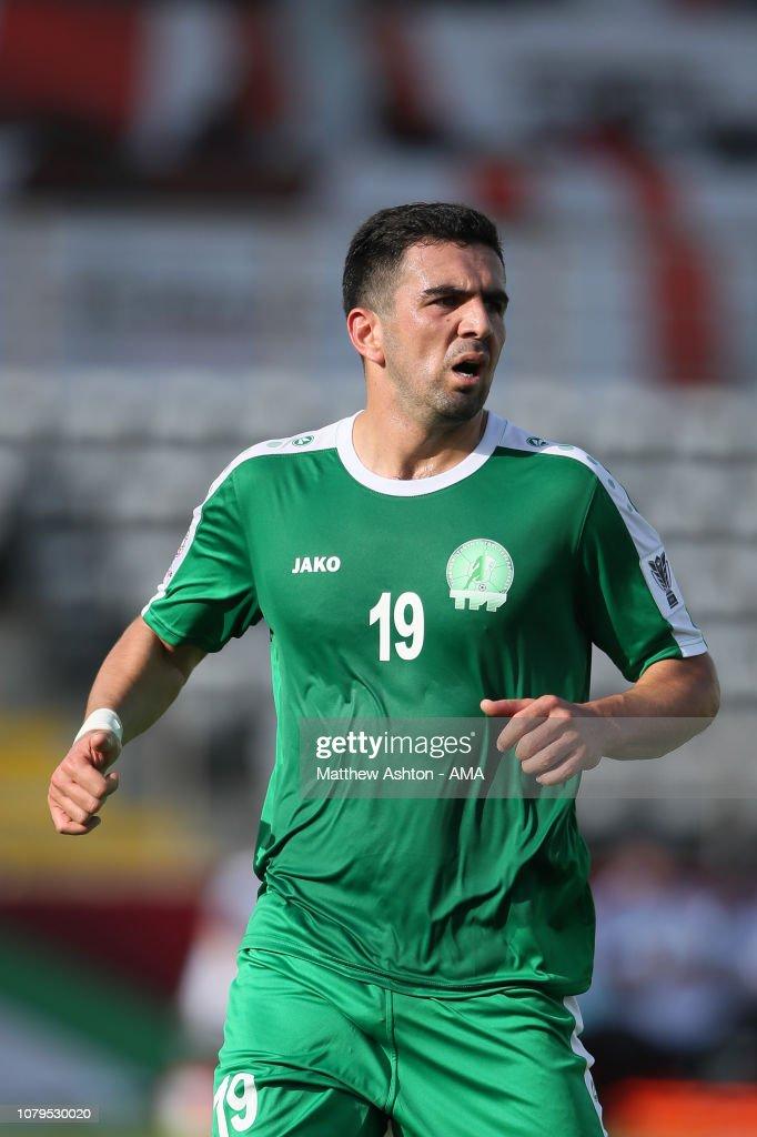 Japan v Turkmenistan - AFC Asian Cup Group F Al Nahyan Stadium : News Photo