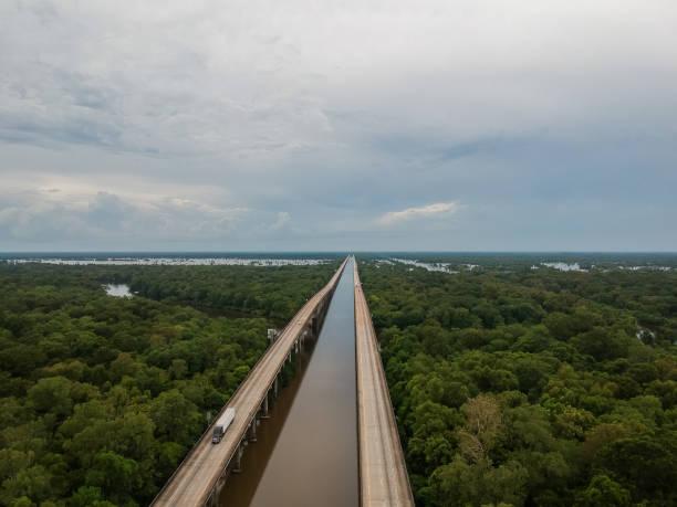 Atchafalaya Basin Bridge Interstate 10 Louisiana