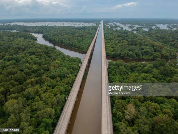 Atchafalaya Basin Bridge Interstate 10 Louisiana