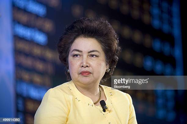 Atchaka Sibunruang Thailand's minister of industry attends the Bloomberg ASEAN Business Summit in Bangkok Thailand on Friday Dec 4 2015 Business...