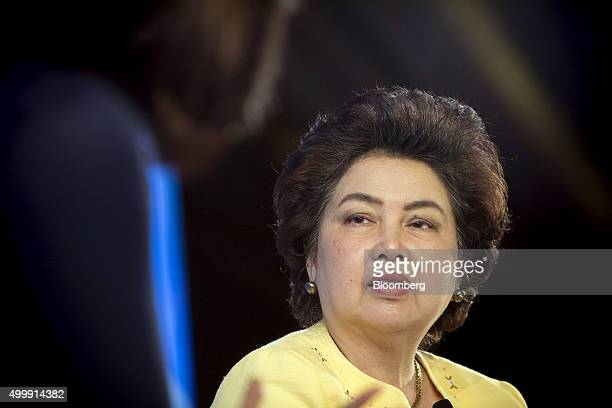 Atchaka Sibunruang Thailand's minister of industry listens at the Bloomberg ASEAN Business Summit in Bangkok Thailand on Friday Dec 4 2015 Business...