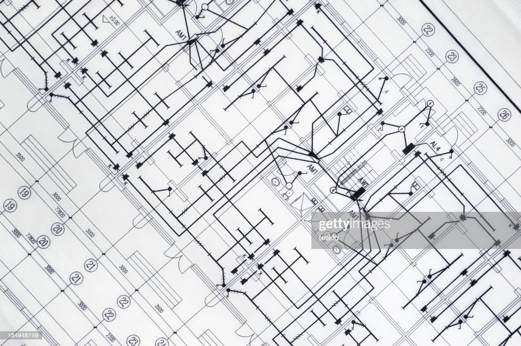Atchitecture blueprintreal estate and construction industry document atchitecture blueprint real estate and construction industry document paperwork stock photo malvernweather Gallery