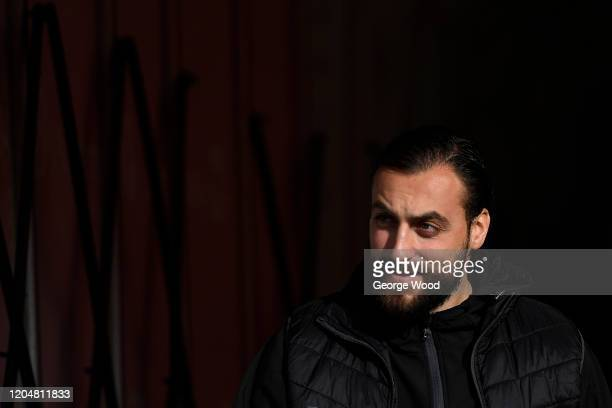 Atdhe Nuhiu of Sheffield Wednesday looks on ahead of the Sky Bet Championship match between Barnsley and Sheffield Wednesday at Oakwell Stadium on...