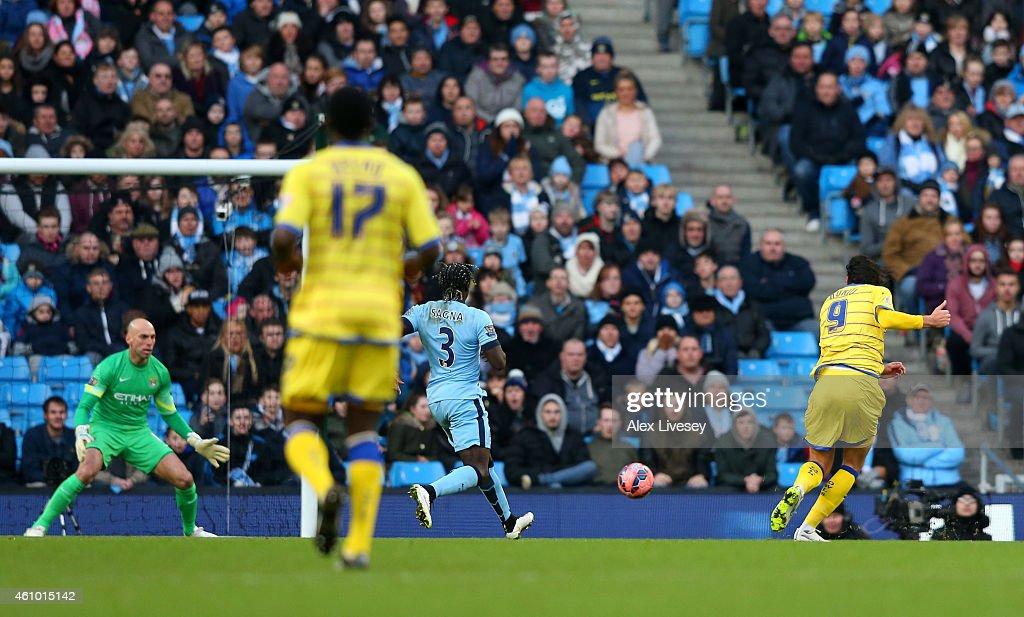Manchester City v Sheffield Wednesday - FA Cup Third Round : News Photo
