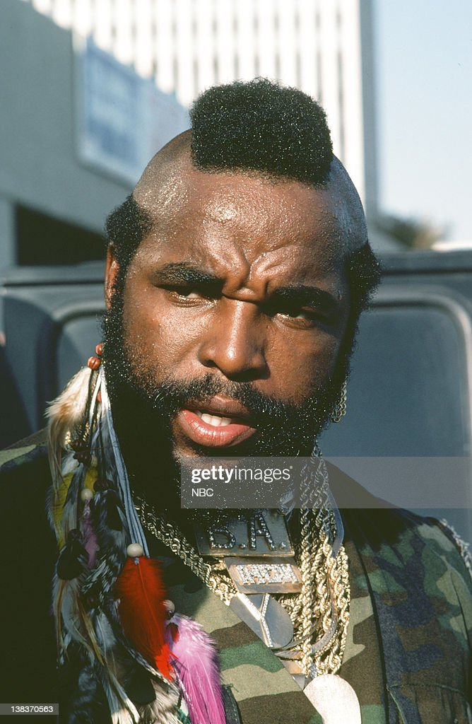 Mr T As Ba Baracus News Photo Getty Images