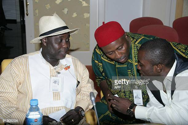 Ateke Tom leader of Niger Delta Vigilante his lawyer Barister Uche Onyeagocha and Akinaka Richard executive director of Niger Delta activist group...