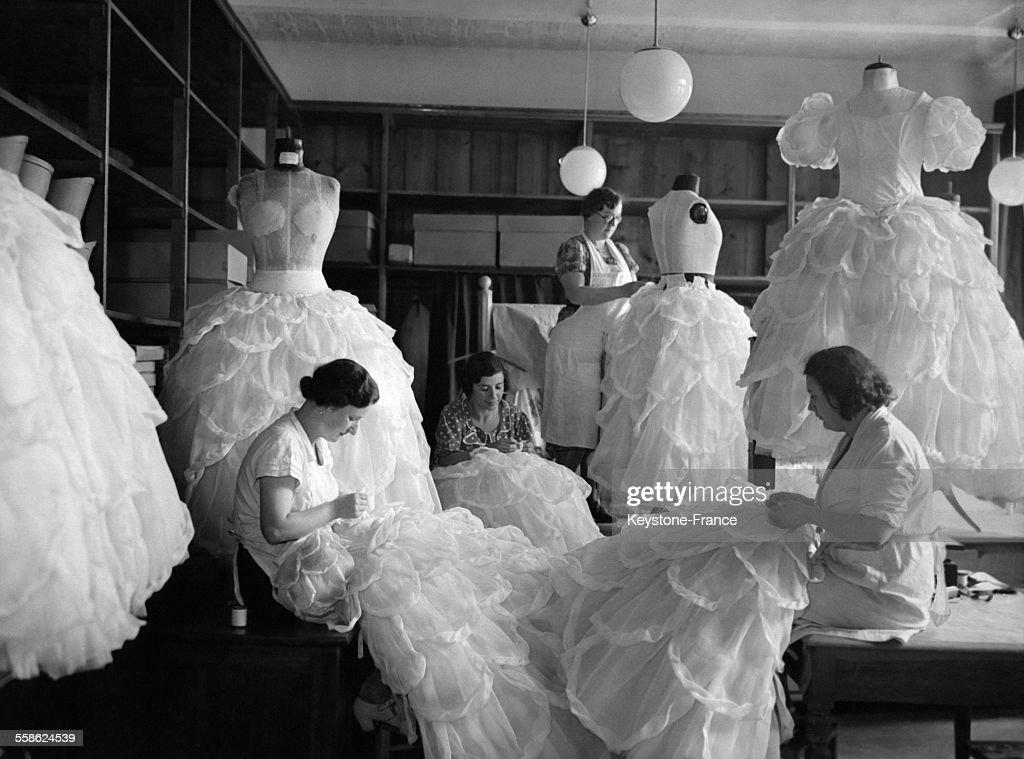 Atelier de couture : News Photo
