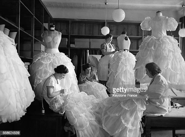 Atelier de couture à Berlin Allemagne le 23 juillet 1937