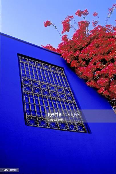 Atelier du peintre Jacques Majorelle a partir de 1924Restaure par Yves St Laurent et Pierre Berge C est Majorelle qui est a l origine du bleu bien...