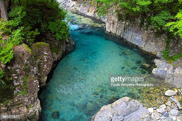 Atera gorge, Nagano prefecture, Japan