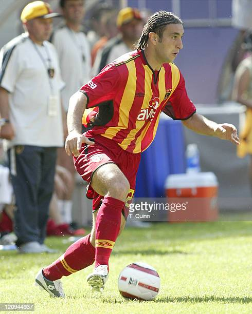 Ates Necati during the Championsworld Series between FC Porto and Galatasaray at Giant's Stadium in East Rutherford New Jersey on August 1 2004