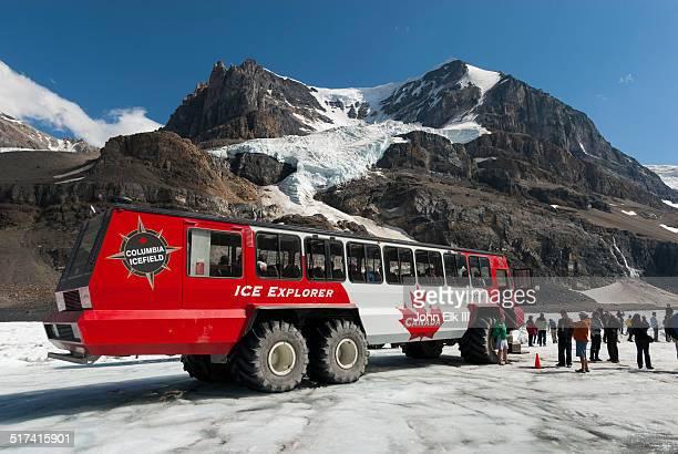 Athabasca Glacier, ice coach