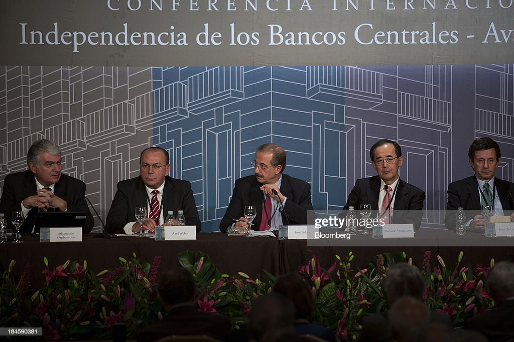 Banco de Mexico 20th Anniversary Of Independence Conference