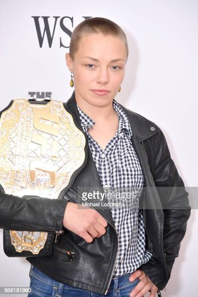 Athelete and champion Rose Namajunas attends WSJ's The Future of Everything Festival at Spring Studios on May 8, 2018 in New York City.