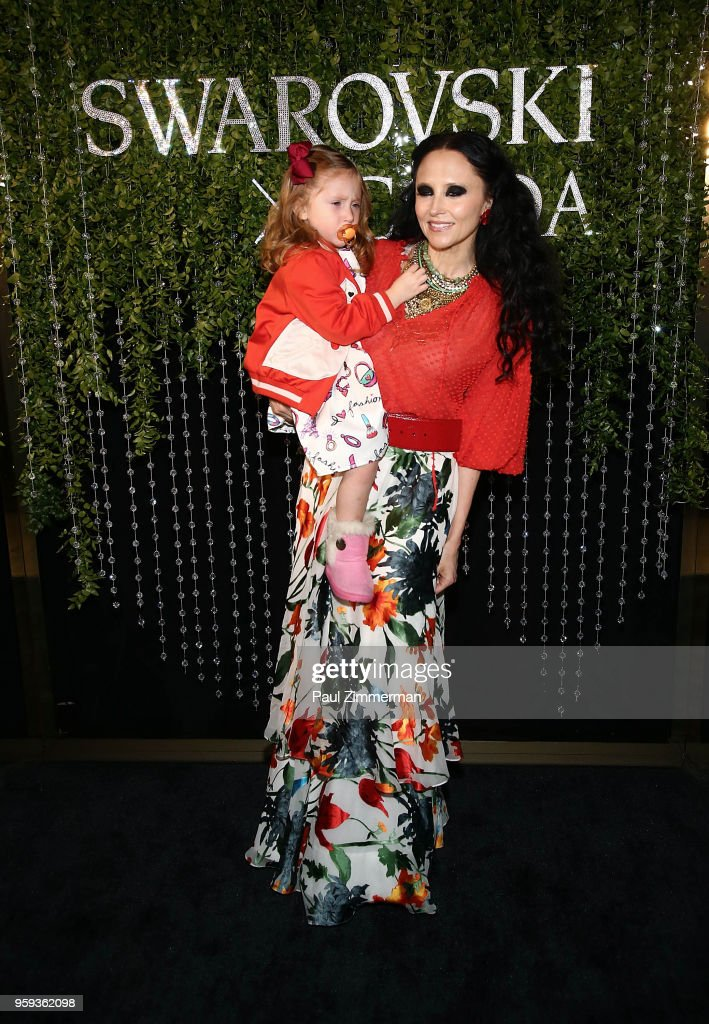 Athena Belle Eisner and Stacey Bendet attend the 2018 CFDA Fashion Awards' Swarovski Award For Emerging Talent Nominee Cocktail Party at DUMBO House on May 16, 2018 in New York City.