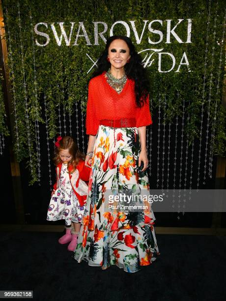 Athena Belle Eisner and Stacey Bendet attend the 2018 CFDA Fashion Awards' Swarovski Award For Emerging Talent Nominee Cocktail Party at DUMBO House...