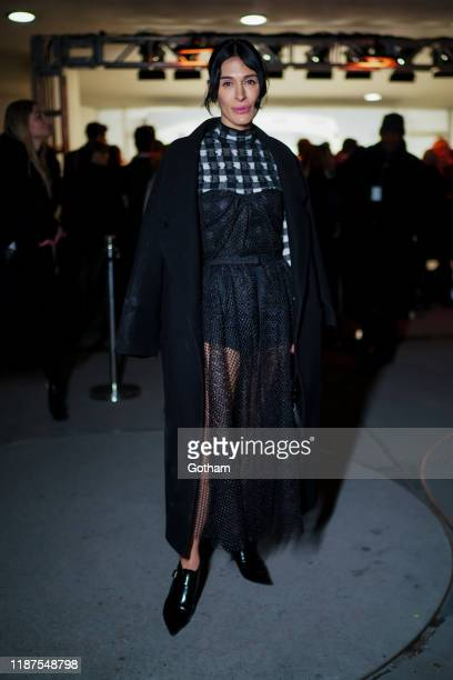 Athena Calderone attends the 2019 Guggenheim International Gala on November 13 2019 in New York City