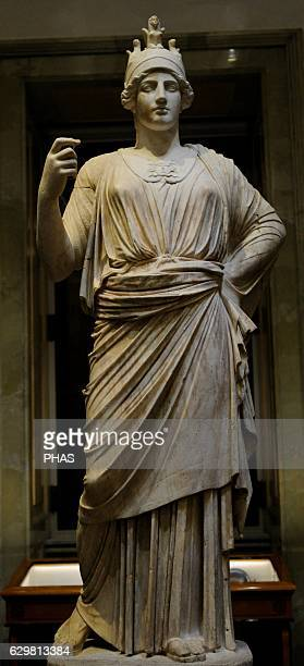 Athena goddess of wisdom and just Marble Roman work 2nd c AD After the original Greek of the late 5th c BC The State Hermitage Museum Saint...