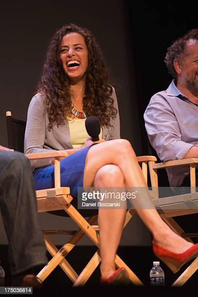 Athena Karkanis attends AMC's Low Winter Sun cast QA with Art House Convergence on July 29 2013 in Ann Arbor Michigan
