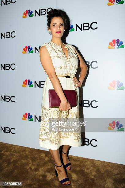 Athena Karkanis attends NBC And The Cinema Society Host A Party For The Casts Of NBC's 20182019 Season at The Four Seasons Restaurant on September 20...