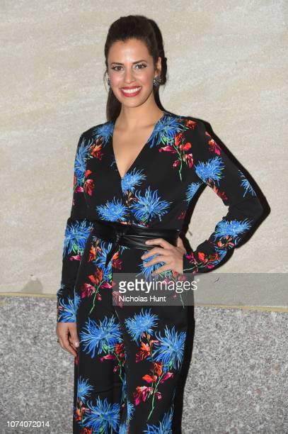 Athena Karkanis attends the 86th Annual Rockefeller Center Christmas Tree Lighting Ceremony at Rockefeller Center on November 28 2018 in New York City