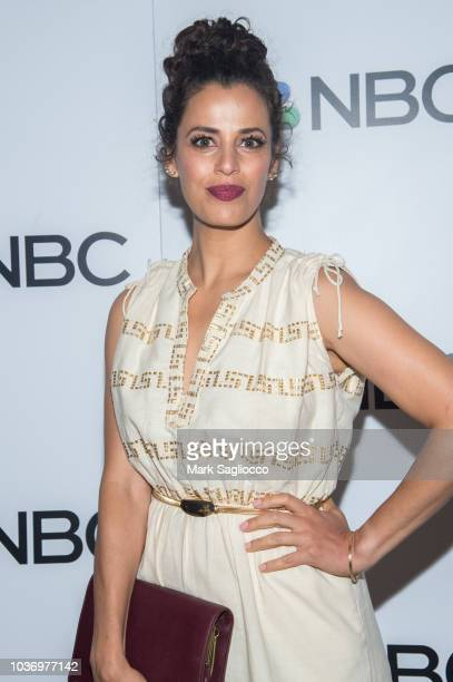Athena Karkanis attends the NBC and The Cinema Society Party for the casts of NBC's 20182019 Season at the Four Seasons Restaurant on September 20...