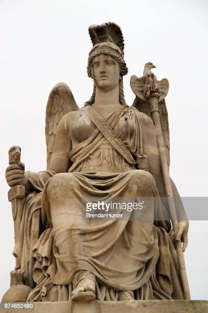 athena - diosa atenea fotografías e imágenes de stock