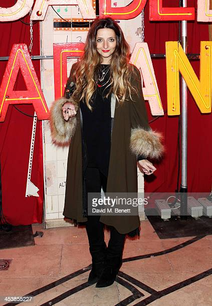 Athena Procopiou attends the Isabel Marant London dinner and party on December 5 2013 in London United Kingdom