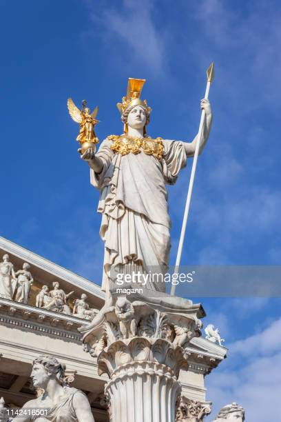 an image athena statue front parliament
