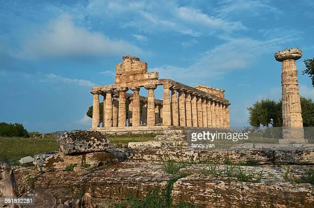 Athena temple in Paestum